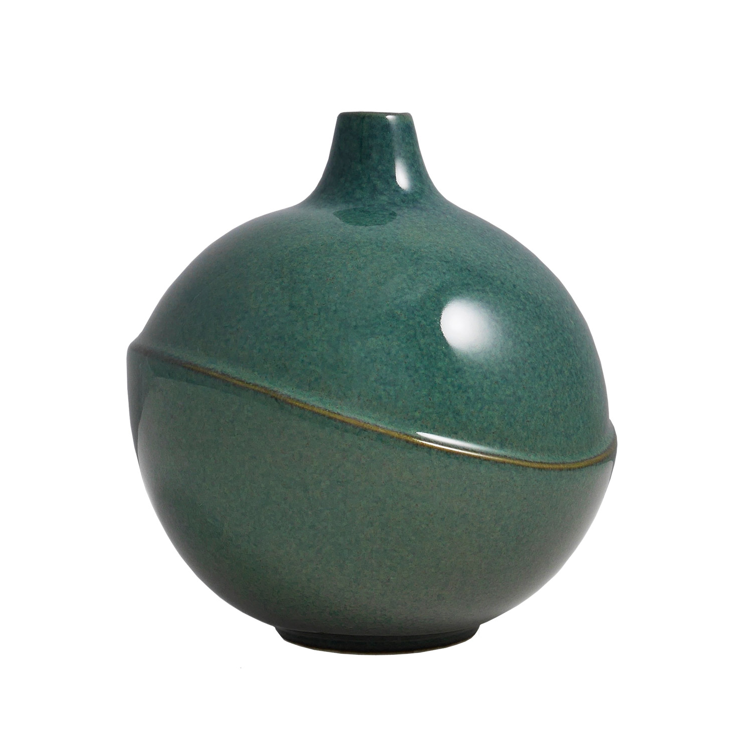 Bubble Vase, Floating Green