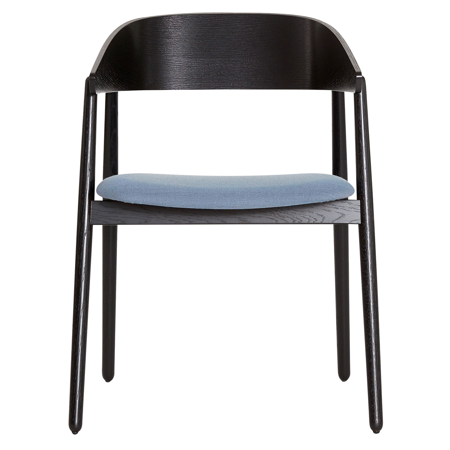AC2 Armchair, Black Oak/Crisp Blue