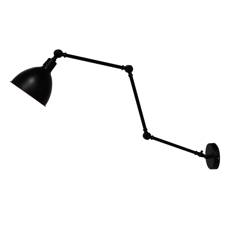 Bazar Wall Lamp, Black