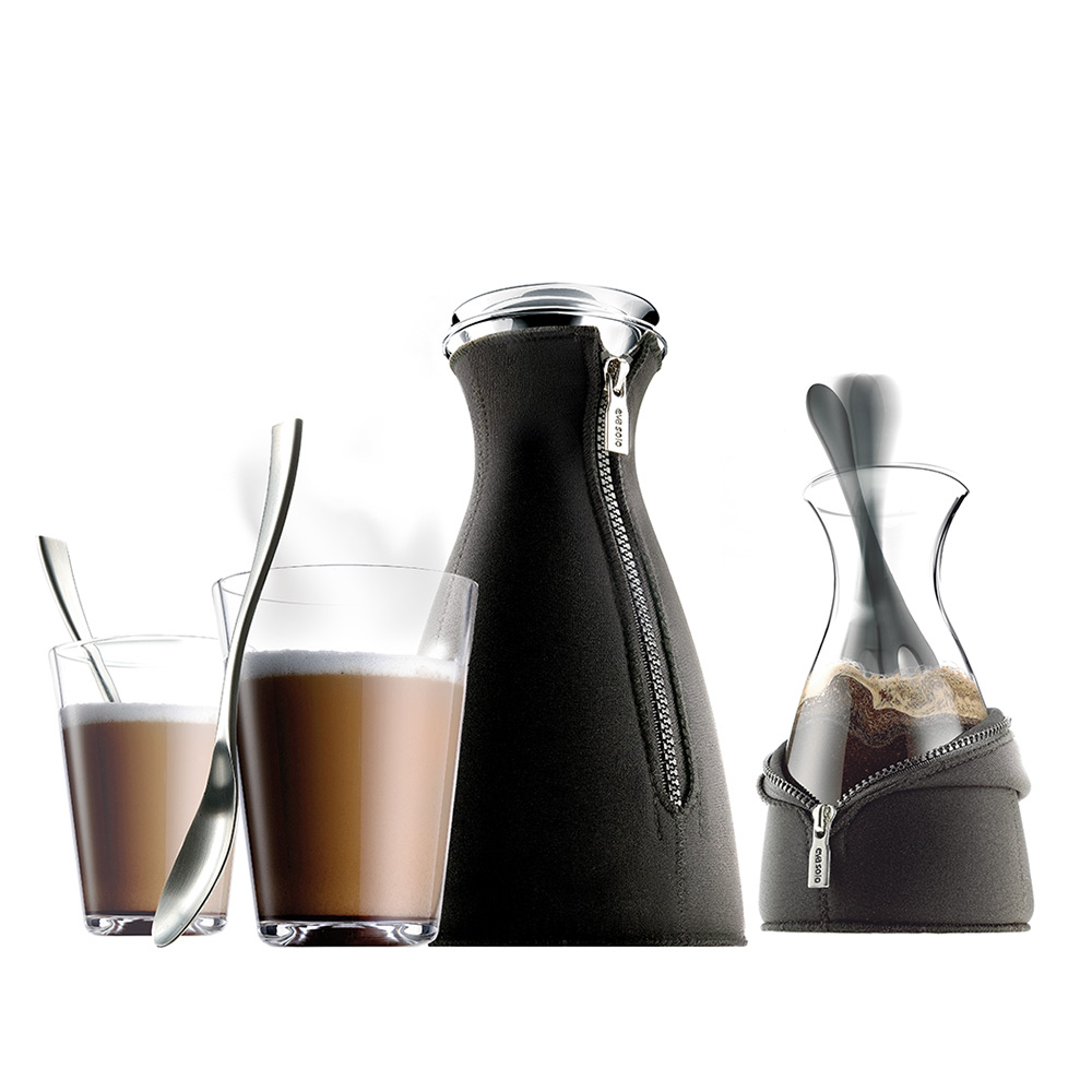 CafeSolo Coffee Maker, Glass Carafe, Black - Eva Solo - Eva Solo - RoyalDesign.com