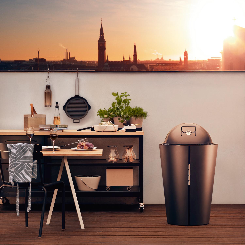 gas grill large black se is eva solo eva solo. Black Bedroom Furniture Sets. Home Design Ideas