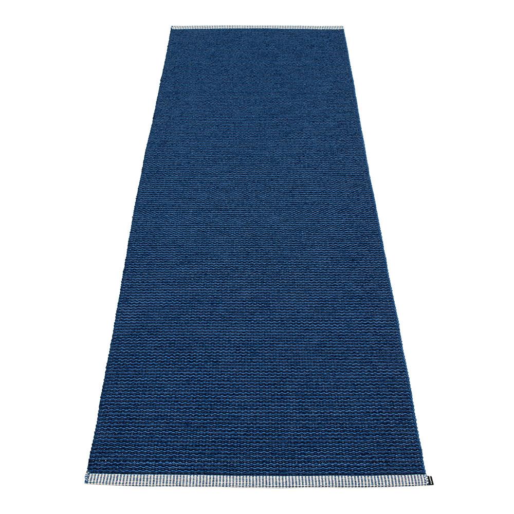 Mono Rug 85x260cm, Dark Blue/Denim