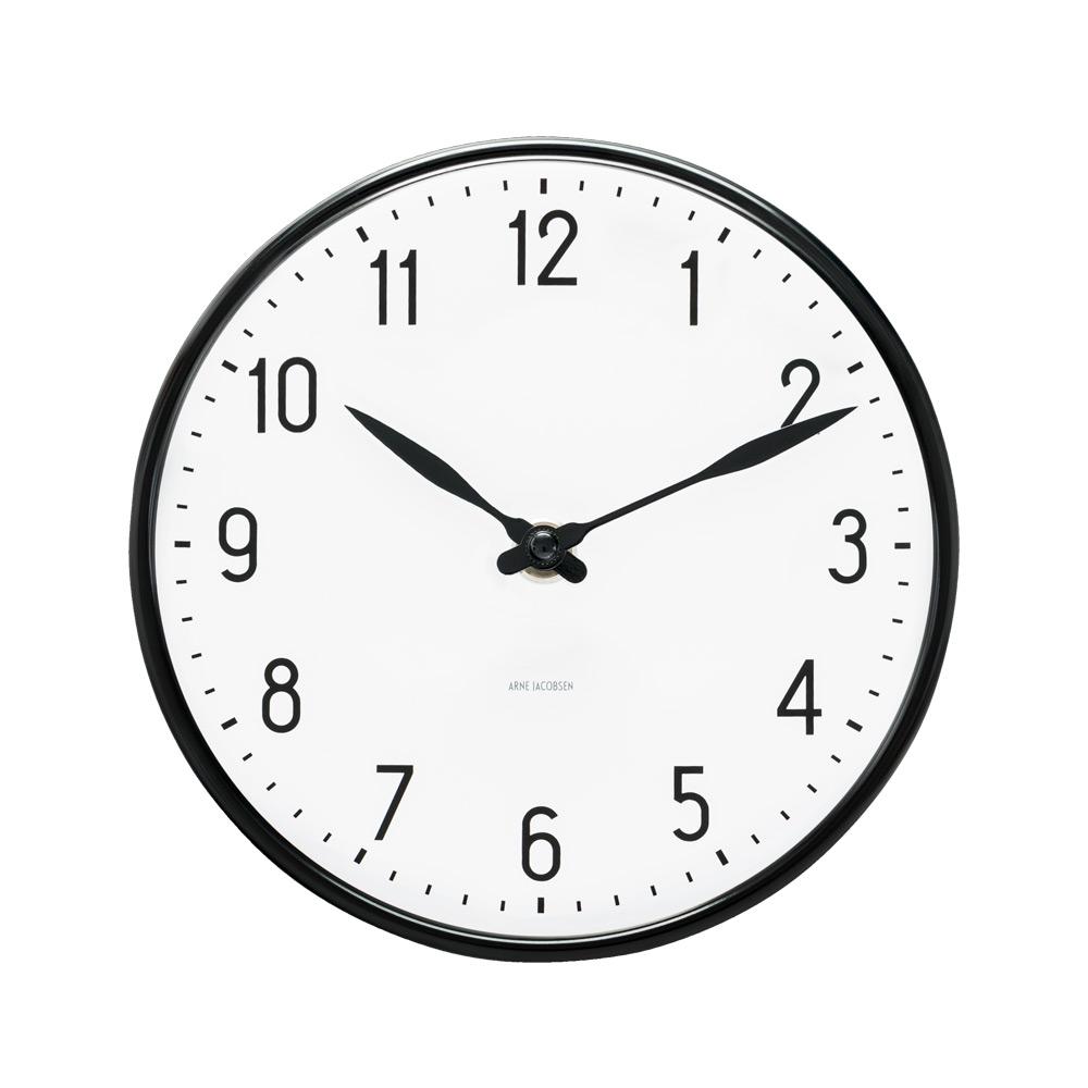 aj station wall clock 16 cm arne jacobsen rosendahl. Black Bedroom Furniture Sets. Home Design Ideas