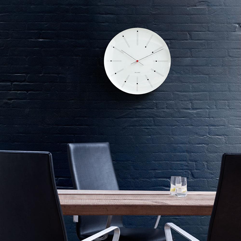 Bankers Wall clock - Arne Jacobsen