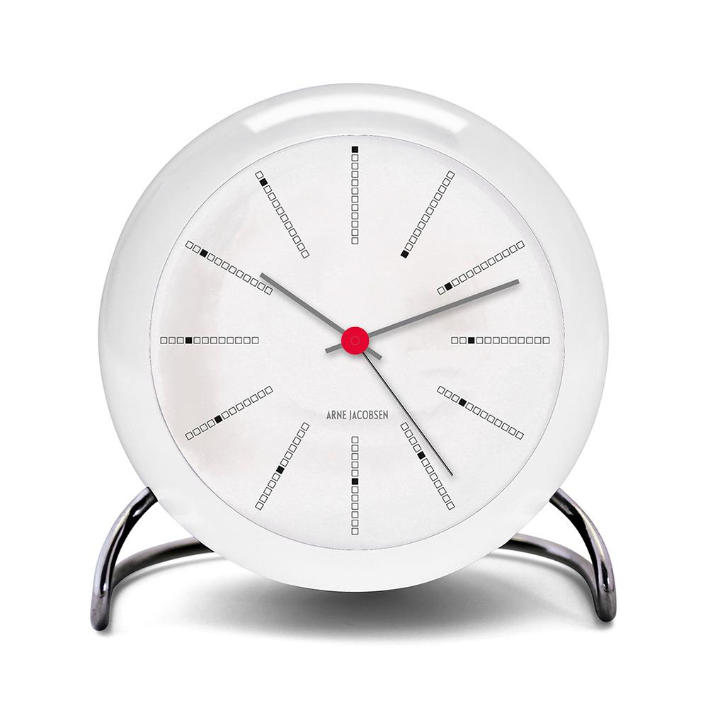 aj table clock with alarm arne jacobsen rosendahl. Black Bedroom Furniture Sets. Home Design Ideas