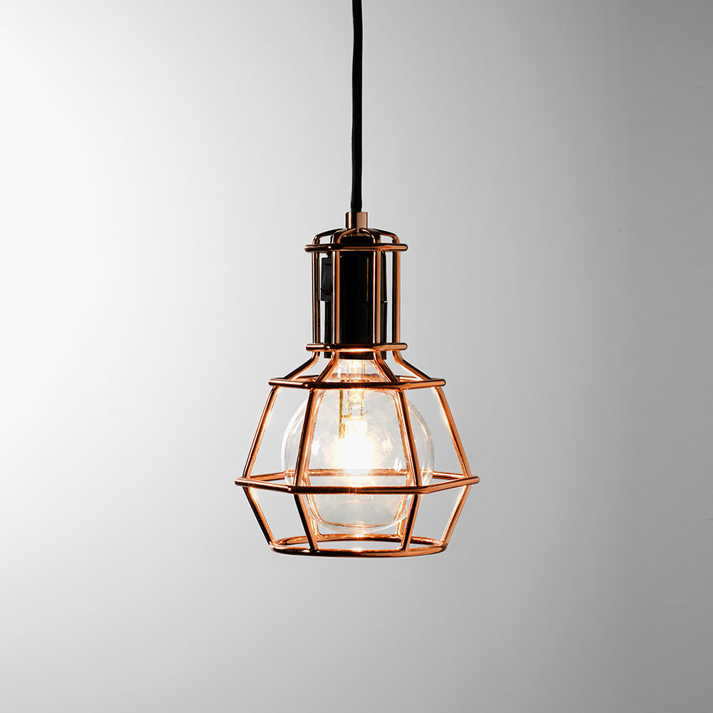 Work Lamp Copper  Form Us With Love  Design House