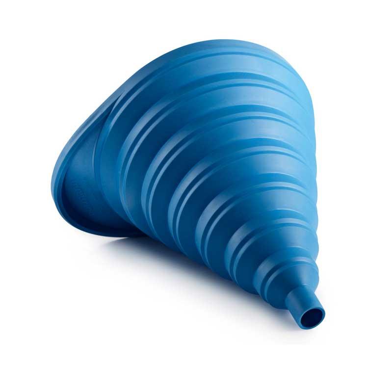 Funnel, Blue