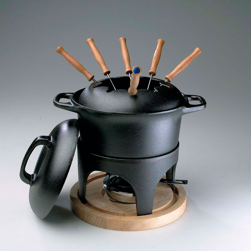 fondue set incl heater s persson studio gense g. Black Bedroom Furniture Sets. Home Design Ideas