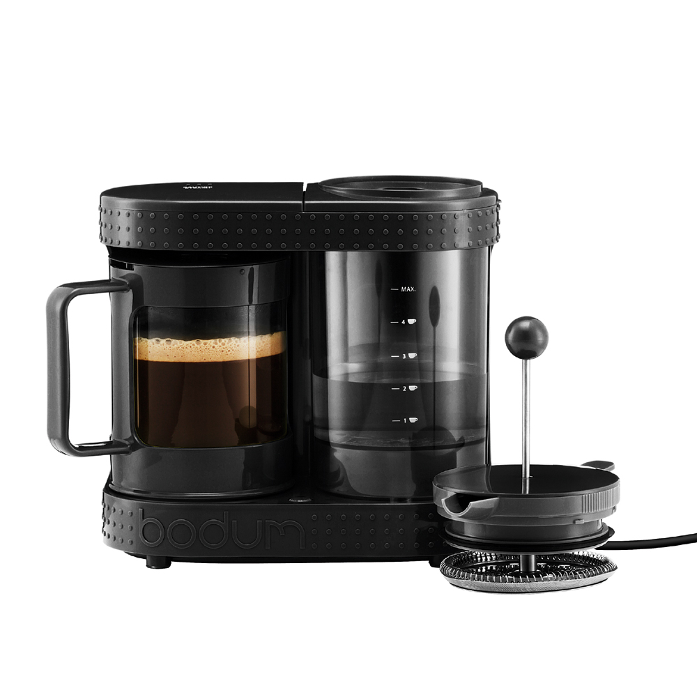 bistro electric coffee machine 4 cups black bodum bodum. Black Bedroom Furniture Sets. Home Design Ideas