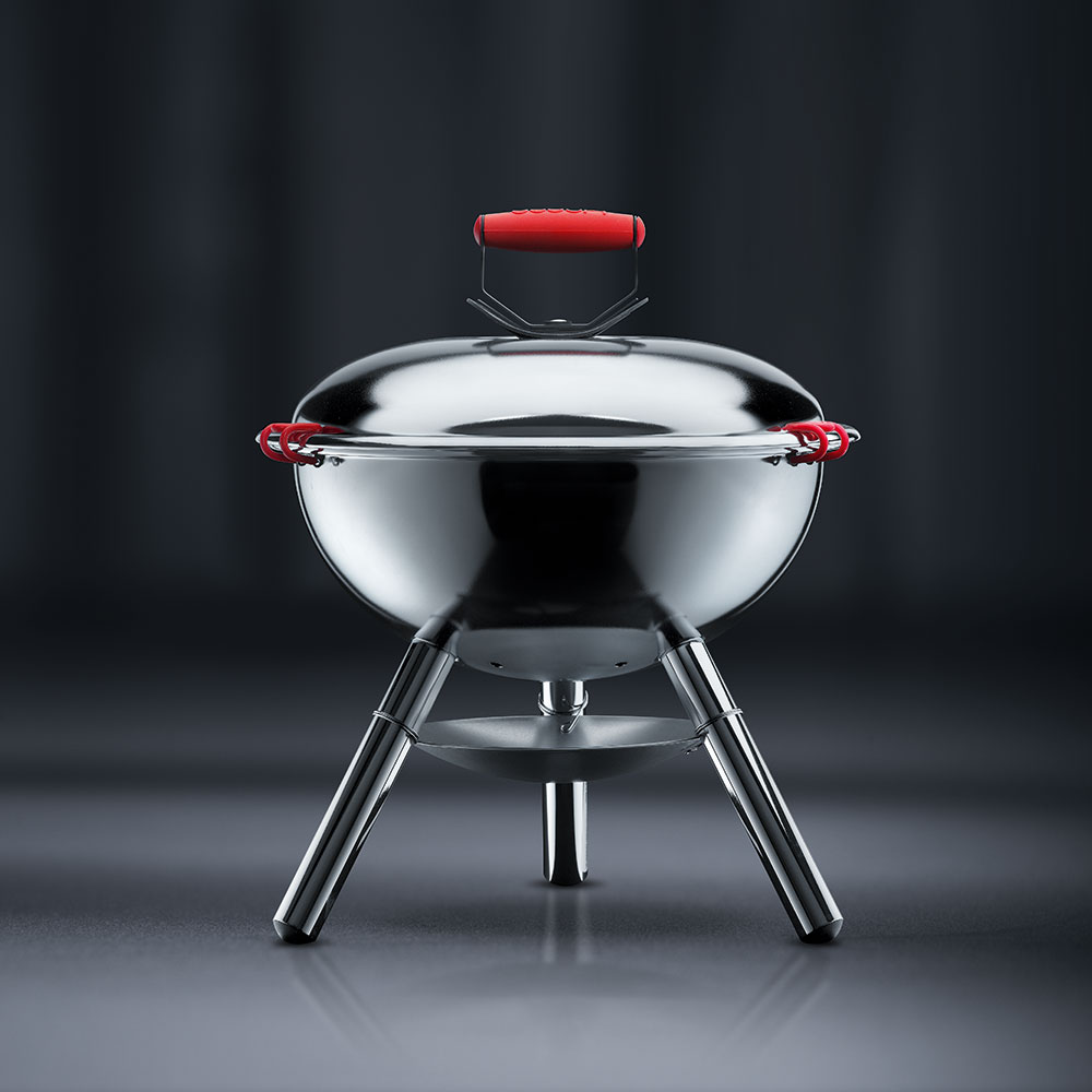 fyrkat picnic charcoal grill chromium bodum bodum. Black Bedroom Furniture Sets. Home Design Ideas