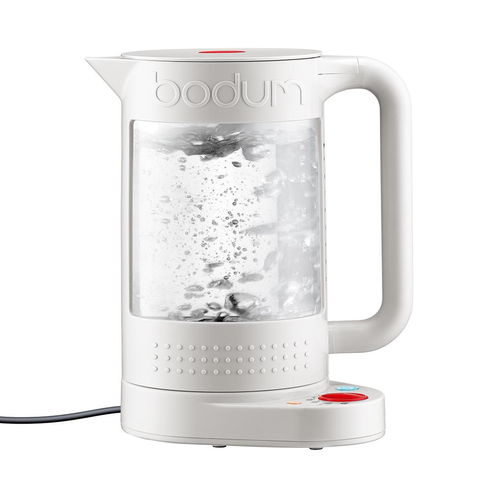 bistro kettle 1 1l white bodum bodum. Black Bedroom Furniture Sets. Home Design Ideas