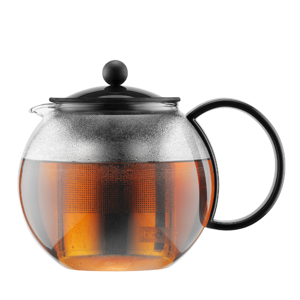 ASSAM Teapot 0,5 L, Black