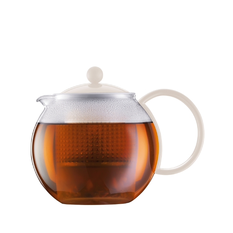 ASSAM Teapot 1 L, White