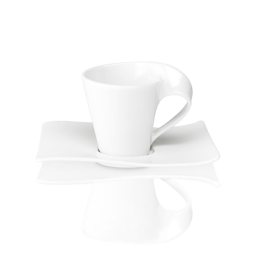 new wave espr cup saucer 2pcs new villeroy boch. Black Bedroom Furniture Sets. Home Design Ideas