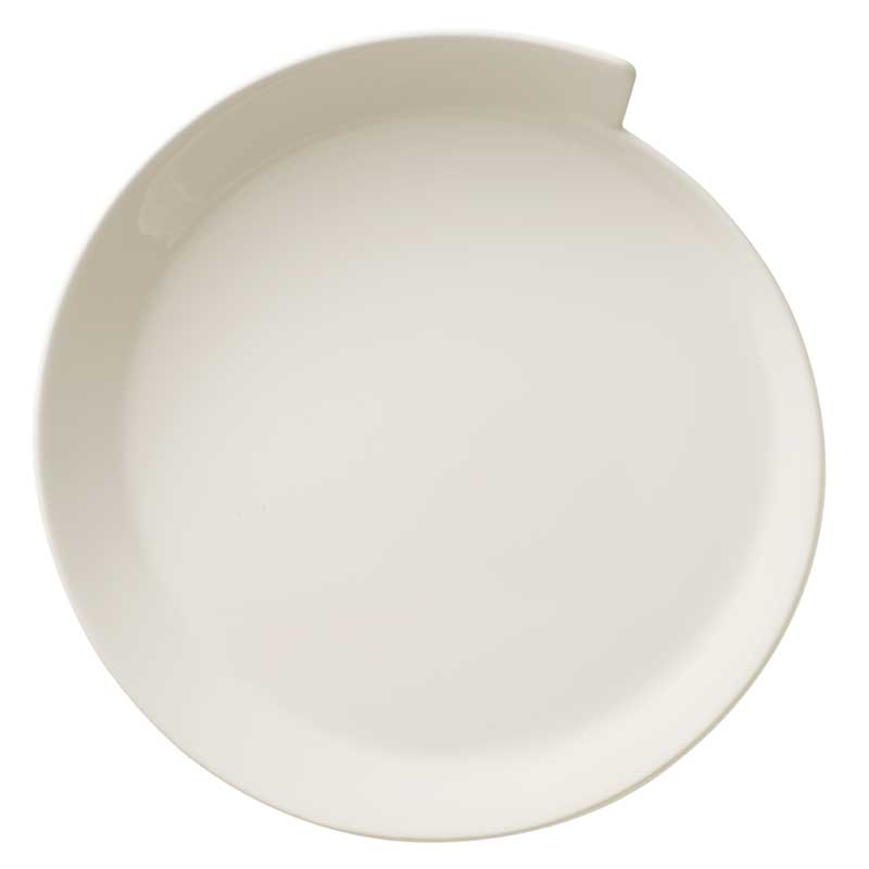 new wave salad plate round 25cm villeroy boch. Black Bedroom Furniture Sets. Home Design Ideas