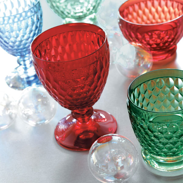 Boston coloured water goblet red villeroy boch - Villeroy and bosh ...