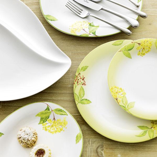 green garland salad plate villeroy boch villeroy boch. Black Bedroom Furniture Sets. Home Design Ideas