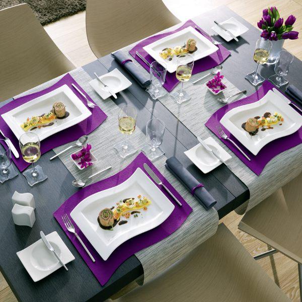 new wave gourmet plate villeroy boch villeroy boch. Black Bedroom Furniture Sets. Home Design Ideas